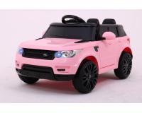 Start Run elektromos kisautó rózsaszín színben